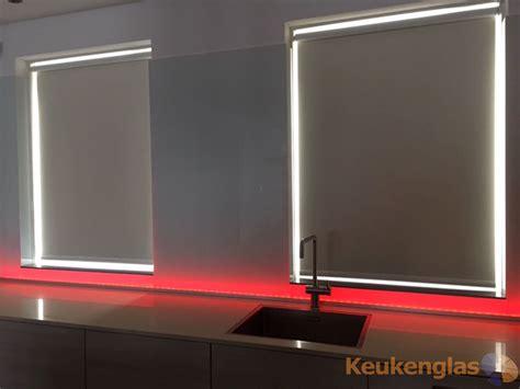 achterwand keuken led witte keukenwand met led almere keukenglas