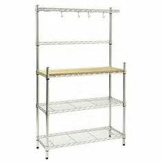 Stainless Steel Bakers Rack Bakers Rack Kitchen On Bakers Rack Decorating