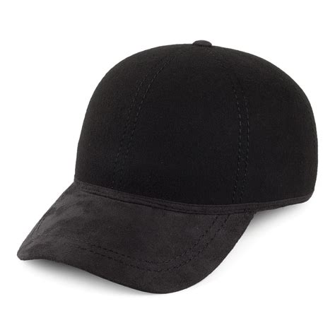 christys hats baseball cap with moleskin peak