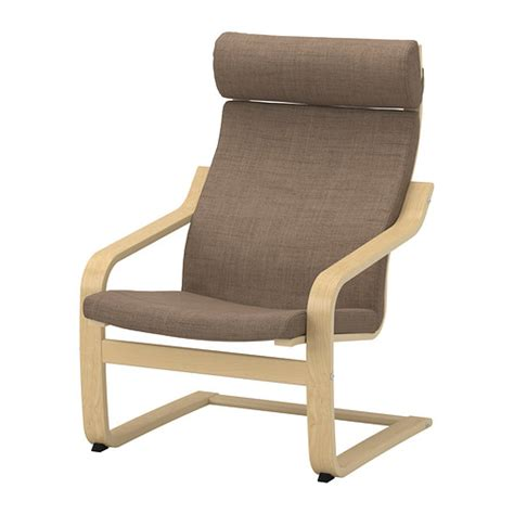 po 196 ng armchair isunda brown birch veneer ikea