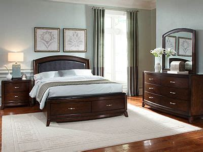 Steinhafels Bedroom Sets by King Brennan Leather Storage Bedroom Set Steinhafels