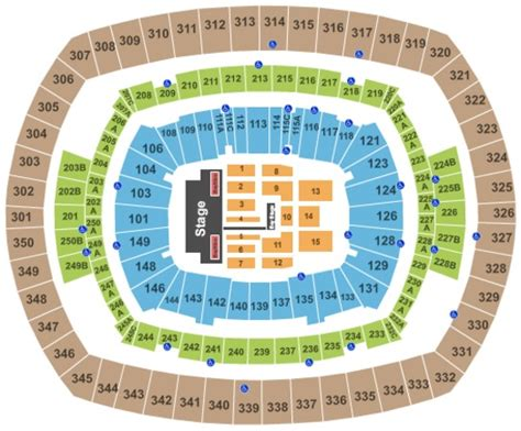 metlife stadium seating chart giants metlife stadium tickets in east rutherford new jersey