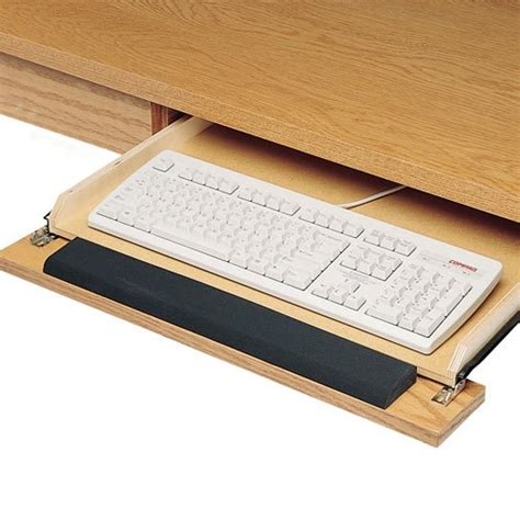 Keyboard Drawer Hinge by 14 Keyboard Slide With Incorporated False Front Hinge 12 19