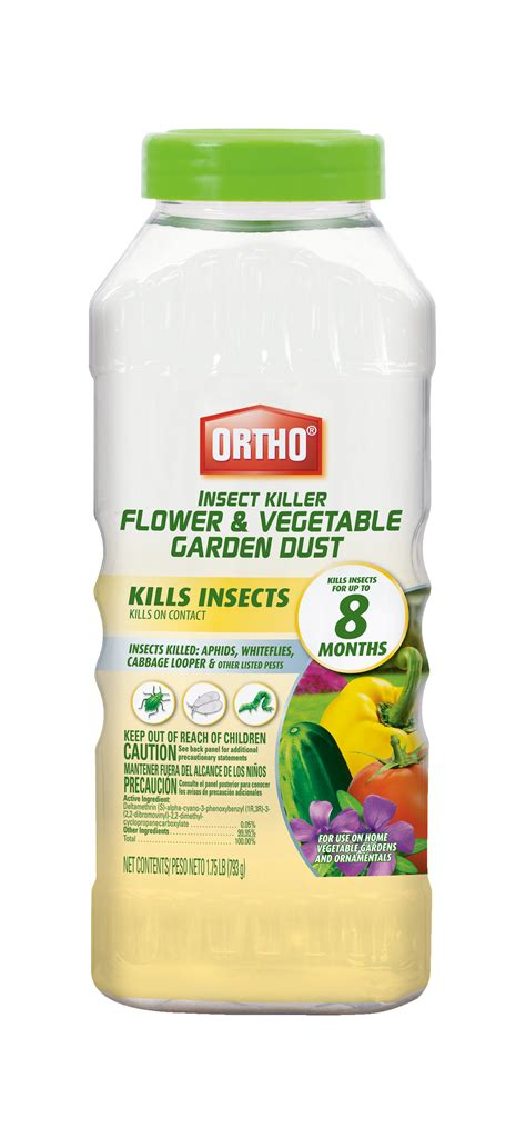 ortho 174 insect killer flower vegetable garden dust ortho
