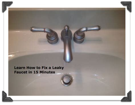 fixing a leaky bathtub faucet double handle how to fix dripping bathroom faucet how to repair a