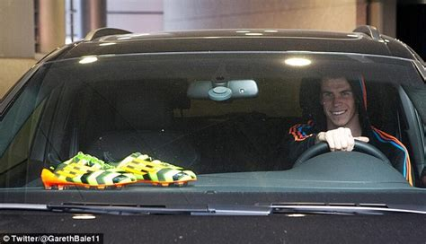 Adidas Real Madrid Green Light gareth bale to wear new adidas crazylight boots daily