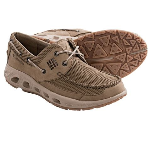 columbia boat shoes columbia sportswear boatdrainer pfg boat shoes for
