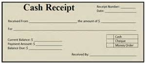 Receipt Of Money Template How Cash Receipts Can Be Prepared In Ms Word Project