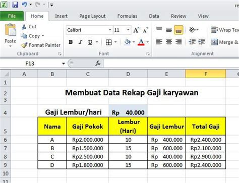 tutorial excel 2013 bahasa indonesia tutorial ms powerpoint 2010 bahasa indonesia
