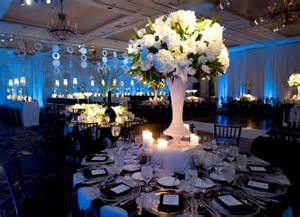 pub table centerpieces real stories a black and blue havdalah bar mitzvah at the