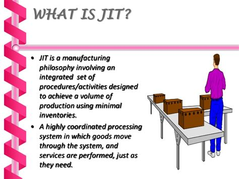 just in just in time manufacturing ppt