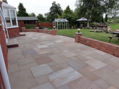 patio and supporting wall julian barclay ltd
