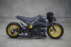 Honda Grom Mods Small Wonders The Groms Of Mad Industries Bike Exif