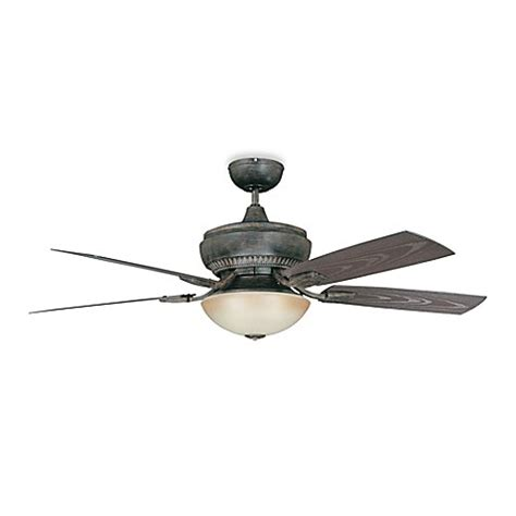 52 Outdoor Ceiling Fan With Light Concord Fans Boardwalk 52 Inch Single Light Indoor Outdoor Ceiling Fan In Aged Pecan Www