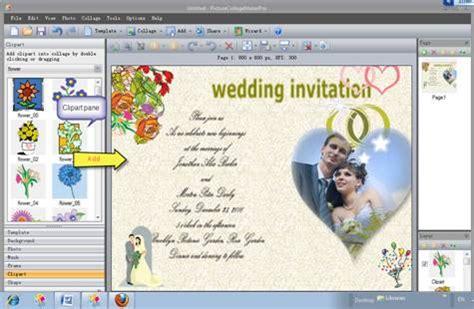 free invitation creator software how to make a wedding invitation card