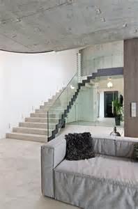 Interior Concrete Stairs Design Stairs Concrete Interior Design In Osice Republic
