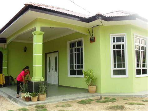 contoh desain rumah warna hijau blog garuda cyber