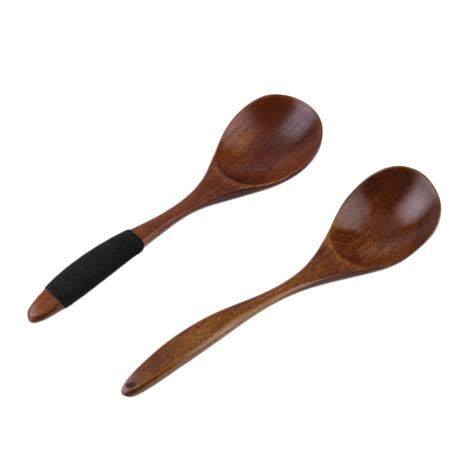 Handmade Wooden Kitchen Utensils - 17cm handmade wooden spoon kitchen cooking utensil tool