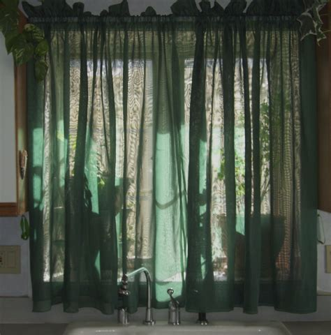 Curtains With Green Sheer Kitchen Curtains Maggiedoll S Obsessions
