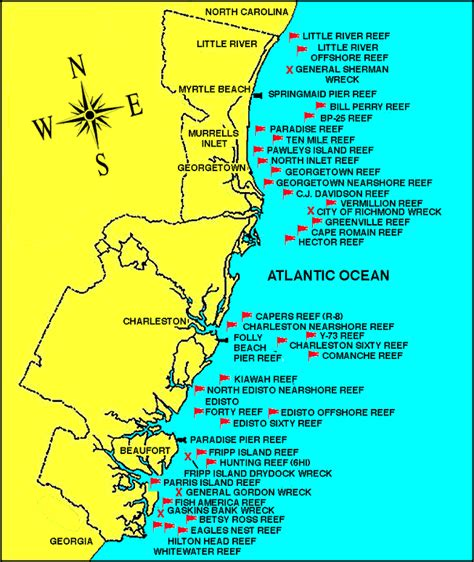 head boat deep sea fishing carolina beach nc locations of artificial reefs and wrecks in south carolina