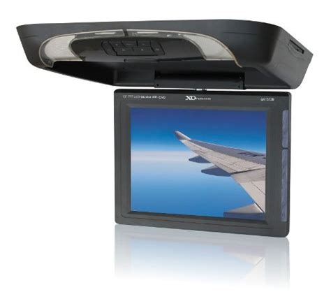 Monitor Vision 15 xo vision gx1572b 15 inch overhead lcd monitor with dvd player ir and fm transmitter cheap car