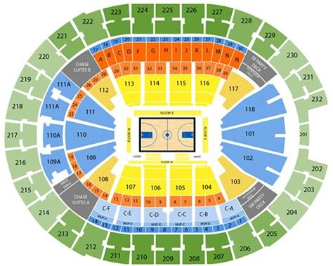 amway center seating chart seating charts insidearenas