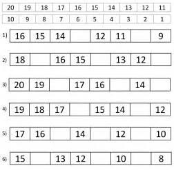 counting backwards worksheets year 1 grade one math