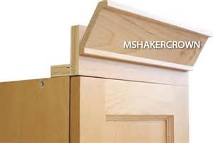 Kitchen Cabinet Door Types 2 Piece Shaker Crown Molding With Backer