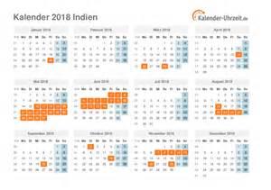Calendar 2018 Deutschland Feiertage 2018 Indien Kalender 220 Bersicht