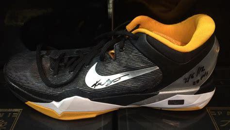 used nike basketball shoes sports memorabilia auction pristine auction