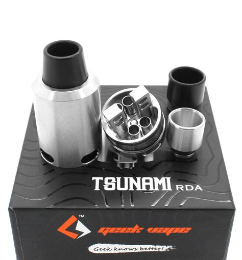 Tsunami 24 Rda Vape Tank Atomizer Vapor tsunami 24 rda by geekvape 10 00 vapor king vape