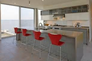 stainless steel kitchen islands 10 beautiful stainless steel kitchen island designs