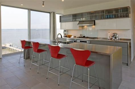 stainless steel island for kitchen 10 beautiful stainless steel kitchen island designs