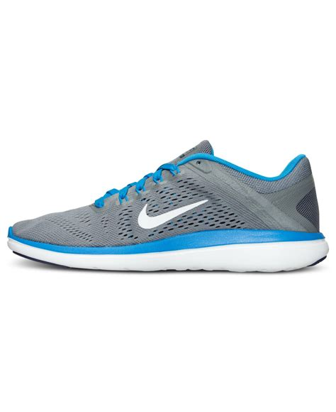 macys mens athletic shoes nike s flex 2016 running sneakers from finish line in
