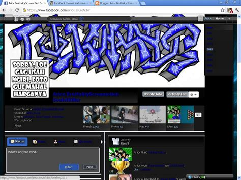 themes facebook anonymous facebook themes n skins part 2