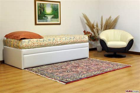 letto singolo con materasso letto singolo con letto estraibile con materassi alti 20 cm