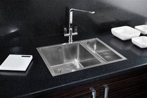 carron phoenix one and a half bowl granite graphite sink model carron phoenix deca 150 kitchen sinks and fittings taps