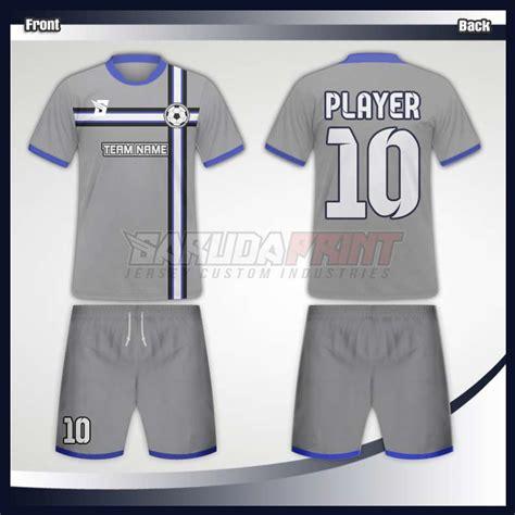 jersey futsal desain depan belakang kerah desain baju futsal code 42 garuda print garuda print