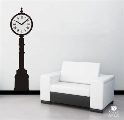 wall sticker clock clock wall decal iron vinyl wall stickers graphics