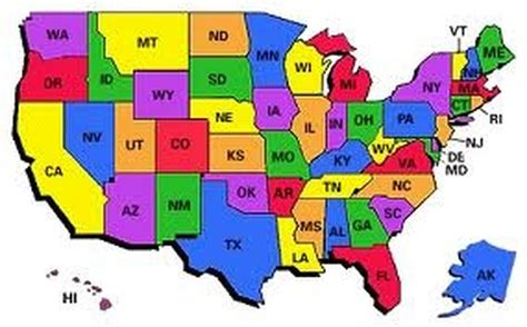all fifty states bucketlist 187 visit all 50 states official bucket list