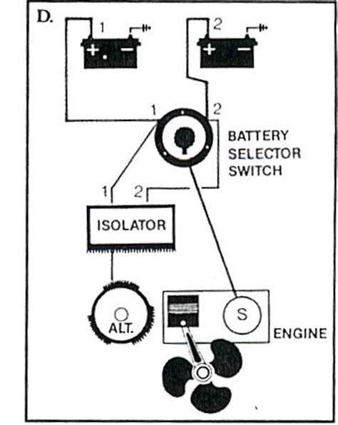 marine battery charging instructions installing a dual battery switch
