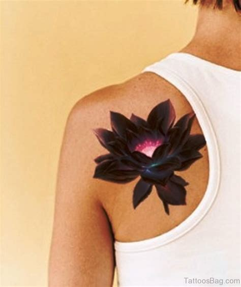 lotus flower shoulder tattoo 40 superior lotus tattoos on shoulder