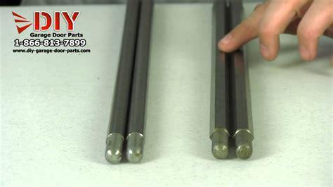 Garage Door Springs Explained Hex Winding Bars Explained Torsion Winding