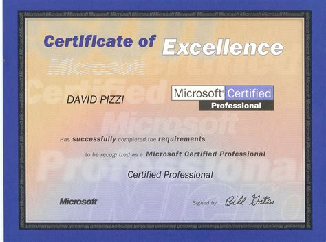 Or Certification Pizzi Consulting