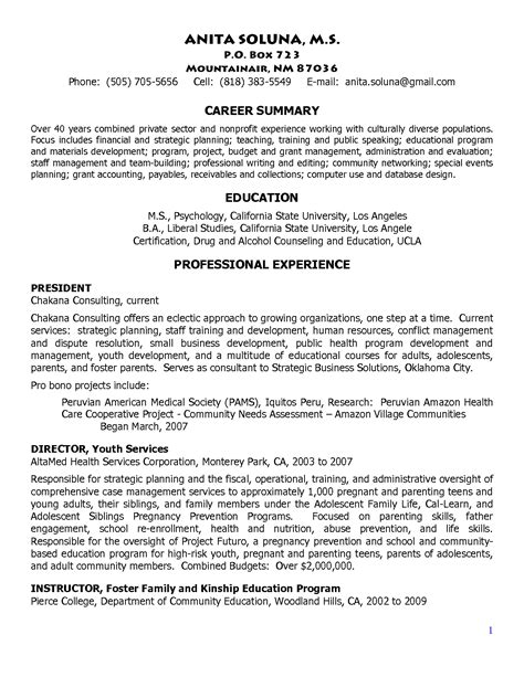 Sorority Resume Template by Academic Advisor Resume Resume Badak