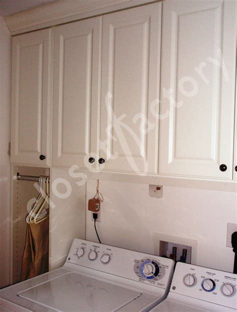 traditional white laundry room cabinets traditional