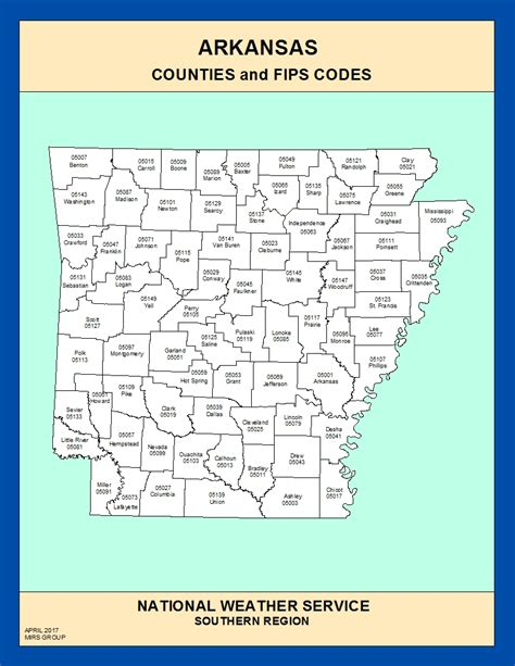 arkansas county map maps arkansas counties and fips codes