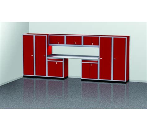 4 Ft Wide Storage Cabinet by Pgc016 01 16 Foot Wide Garage Cabinet Combination