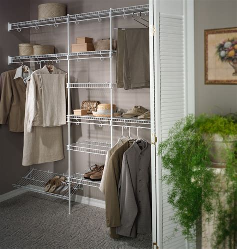 wire walk in closet traditional closet boston by