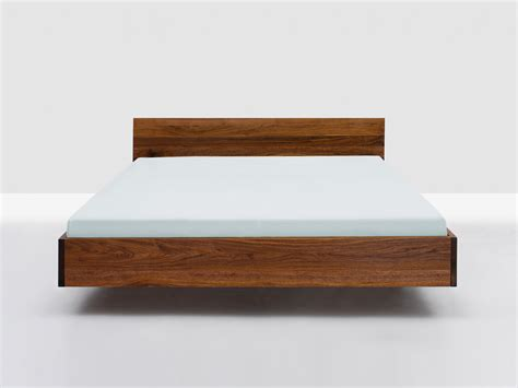 floating bed frame modern bed frames and wall shelves sugarthecarpenter